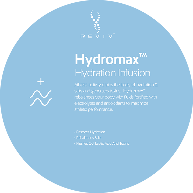 Reviv Hydromax Hydration Infusion at Vitality Medi-Spa in Halifax NS
