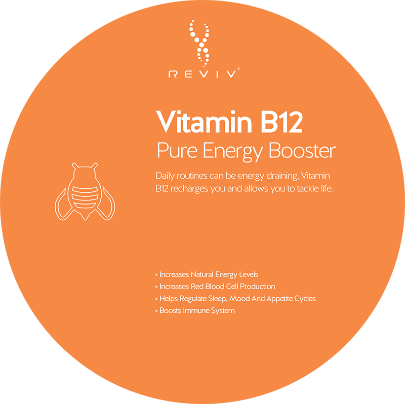 Reviv Vitamin B12 Pure Energy Booster at Vitality Medi-Spa in Halifax NS