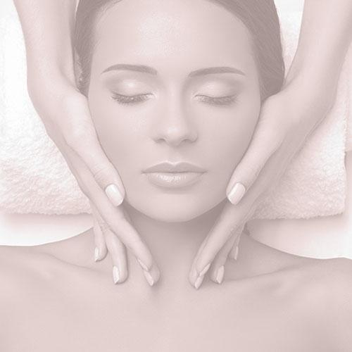 Vitality image below hero, head massage.