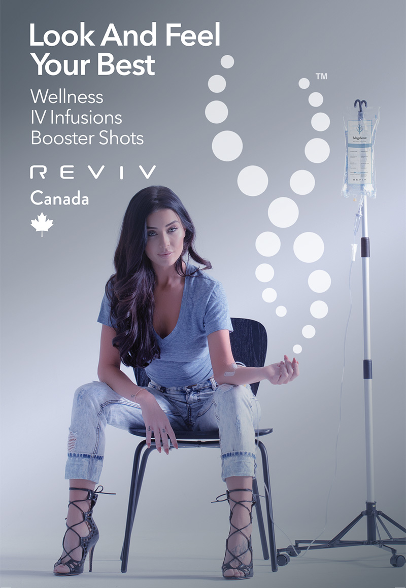 Reviv wellness infusions at Vitality Medi-Spa Halifax NS
