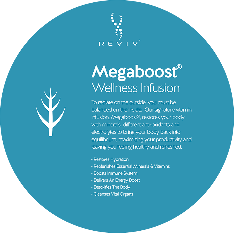 Reviv Megaboost Wellness Infusion at Vitality Medi-Spa in Halifax NS