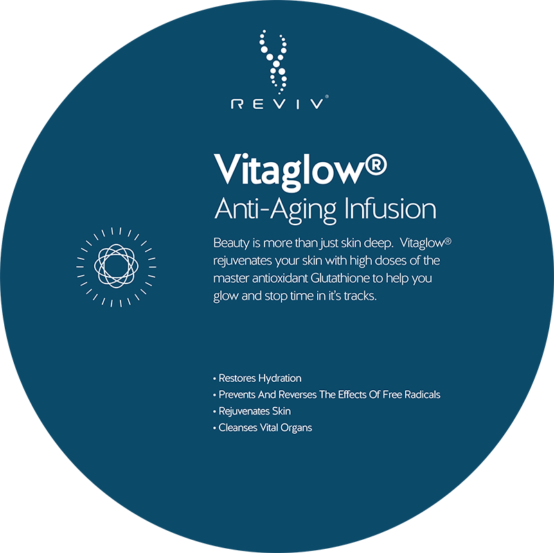 Reviv Vitaglow Anti-Aging Infusion at Vitality Medi-Spa in Halifax NS