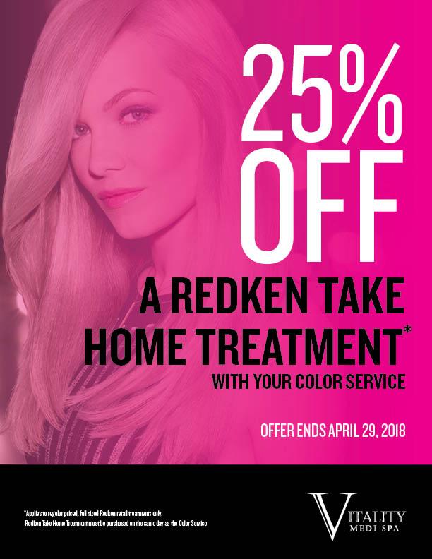 Redken Take Home Treatment