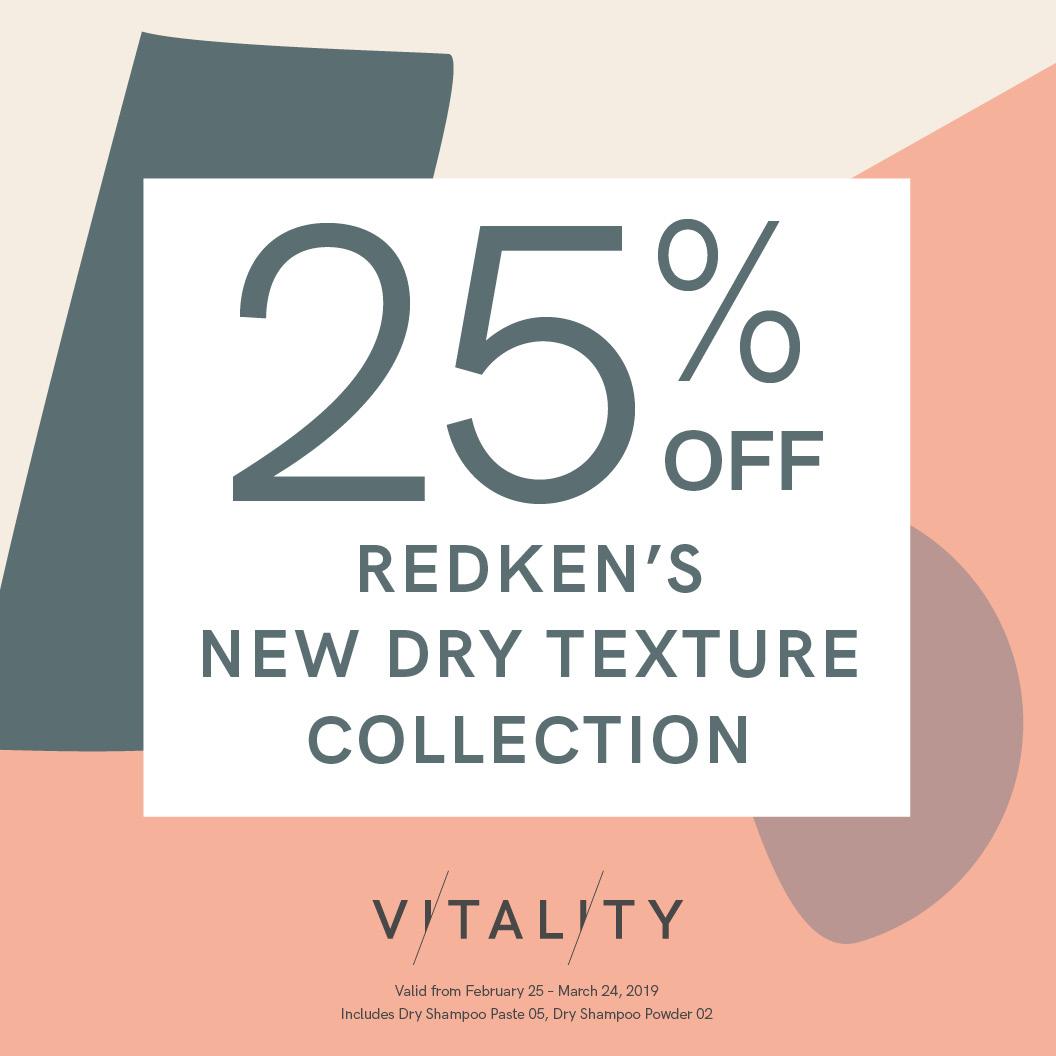 Rdn 25 Off Dry Texture, Vitality Medi-Spa