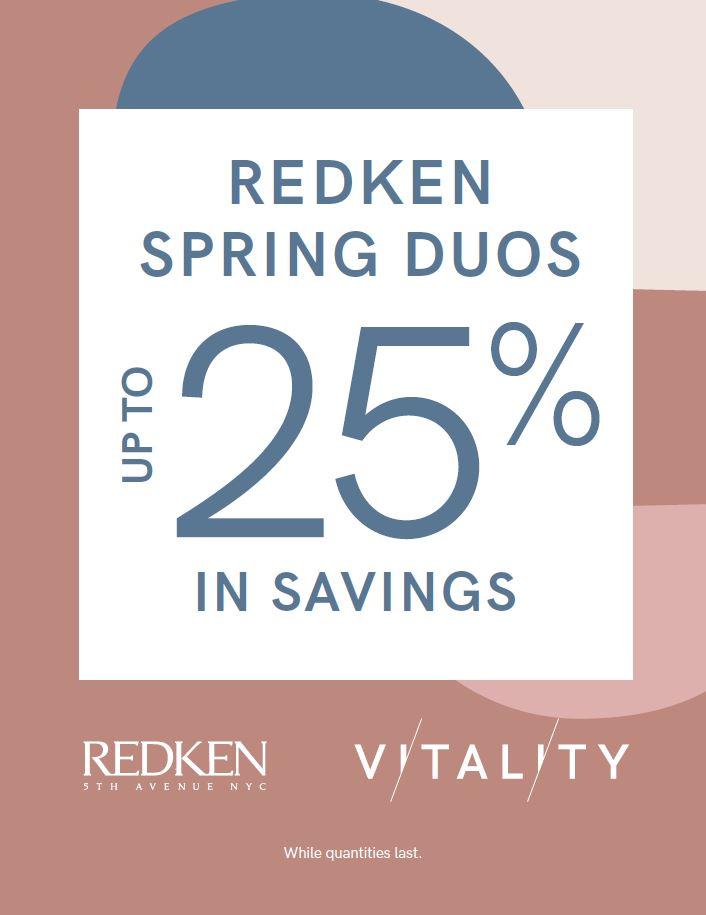 Redken Spring Duo 2019,VMS, Vitality Medi Spa
