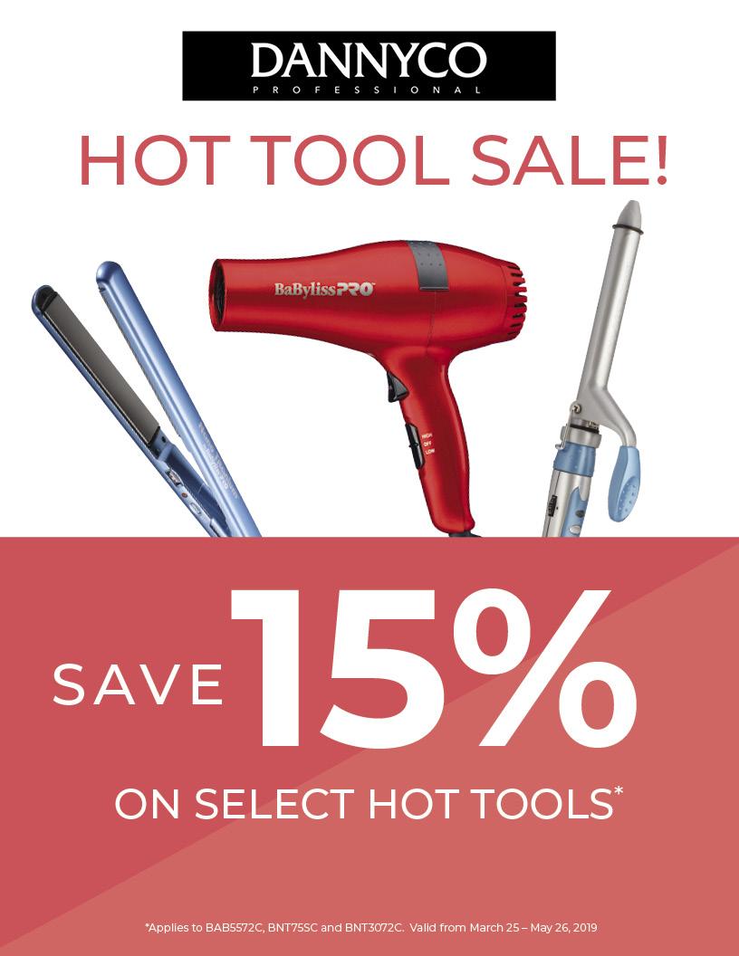 15% Off Dannyco Hot Tools, VMS, Vitality Medi Spa