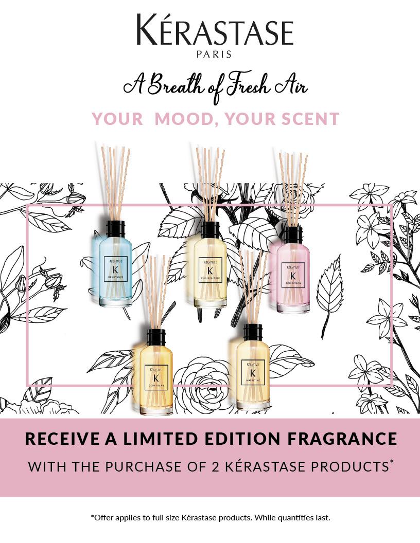 Kerastase Fragrance gift with purchase, VMS, Vitality Medi Spa